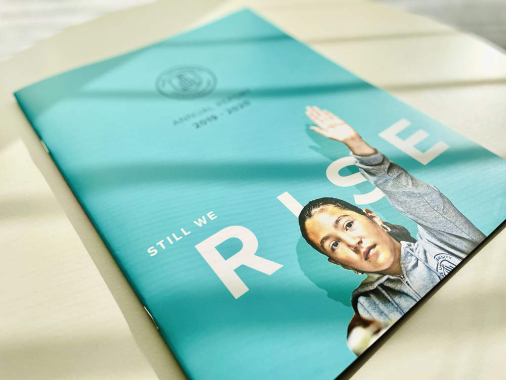 cover of the rise prep 2020 annual report