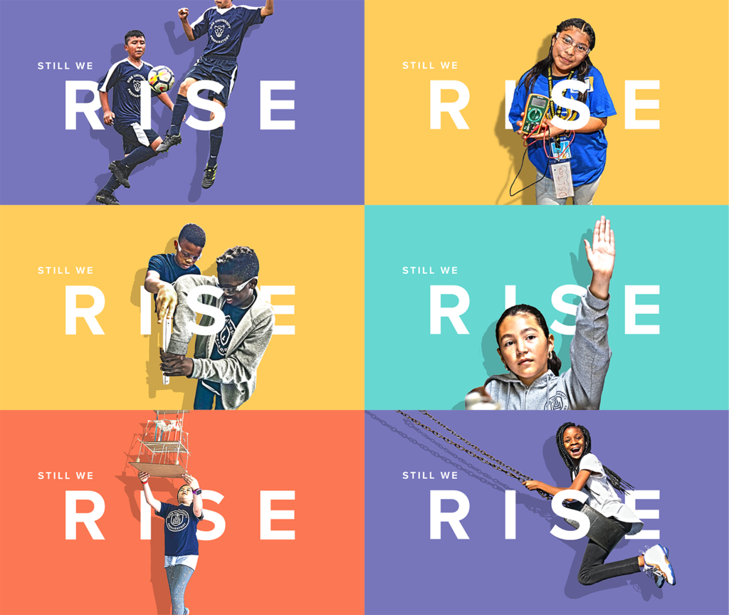 showcasing rise prep students for the 2020 Gala fundraising event