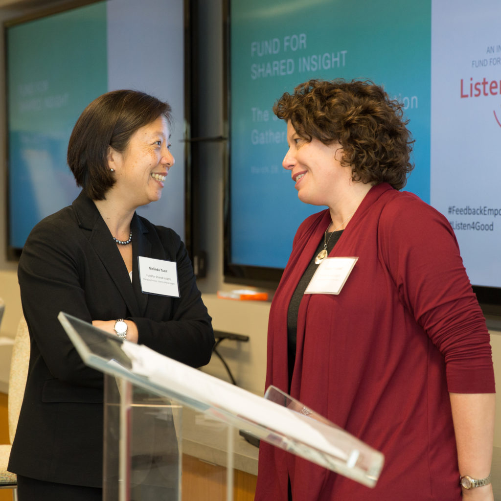 fund for shared insight partners in conversation